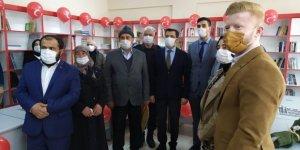 Göksun Esenköy İlkokulu Kütüphanesinin açılışı yapıldı