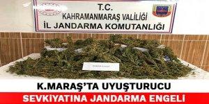 Kahramanmaraş'ta uyuşturucu sevkiyatına jandarma engeli