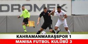 Kahramanmaraşspor 1-3 Manisa Futbol Kulübü
