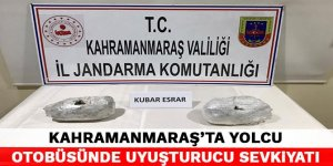 Kahramanmaraş'ya yolcu otobüsünde uyuşturucu sevkiyatı