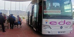 Kahramanmaraşspor'a Büyükşehir'den ulaşım desteği