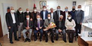 Kahramanmaraş ASKF'de devir teslim töreni yapıldı