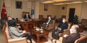 Deva Partisi Kahramanmaraş İl Yönetiminden Kahramanmaraş İstiklal Üniversitesi'ne ziyaret