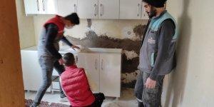 Kahramanmaraş'ta meslek lisesi öğrencileri ihtiyaç sahibi ailelerle buluşuyor