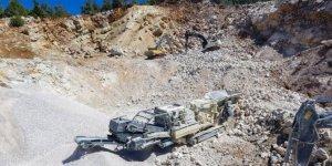 Dulkadiroğlu Belediyesi ihtiyaç duyduğu taş ve kumu kendi şantiyesinde üretecek