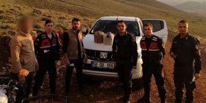 Kahramanmaraş'ta kurak avı yapan 2 kişi yakalandı