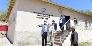 Başkan Okay Hacıeyüplü sosyal tesisini inceledi