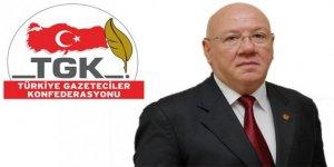 TGK'dan basın özgürlüğü çağrısı
