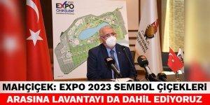 Başkan Mahçiçek: EXPO 2023 sembol çiçekleri arasına lavantayı da dahil ediyoruz