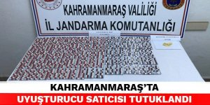 Kahramanmaraş'ta uyuşturucu satıcısı tutuklandı