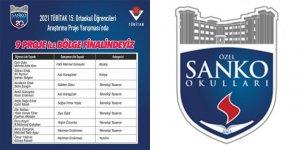 SANKO Ortaokulu Öğrencileri Dokuz Projesi Bölge Finalinde