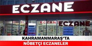 Kahramanmaraş'ta nöbetçi eczaneler - 24 Eylül 2021