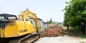 Anzorey Mahallesinin içmesuyu şebekesi yenilendi