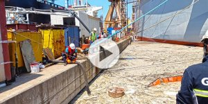 Kahramanmaraş Büyükşehir ekiplerinden Marmara'da müsilaj seferberliği