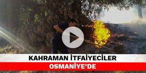 Kahraman İtfaiyeciler Osmaniye'de