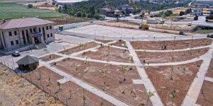 Gaziantep yolu'na yeni yeşil alan