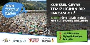Kahramanmaraş'ta Dünya Temizlik Gününde anlamlı etkinlik