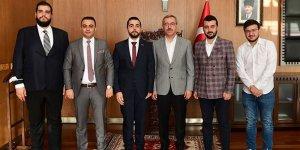 Genç Müsiad'dan Başkan Güngör'e ziyaret