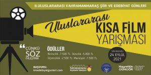 Kahramanmaraş'ta Ödüllü yarışma başvurularında son 3 gün!