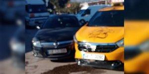 Kahramanmaraş'ta iki otomobil çarpıştı: 1 yaralı