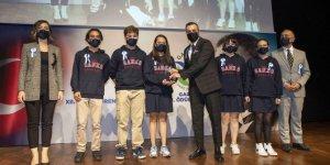 SANKO Okulları'nın TÜBİTAK başarısı ödüllendirildi