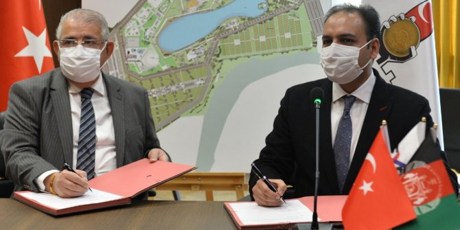 Kahramanmaraş'ta EXPO 2023, için ilk resmi anlaşma Afganistan'la imzalandı