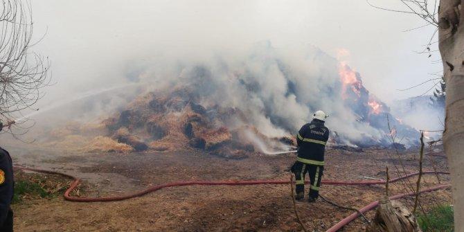 Kahramanmaraş'ta çiftlik yangını