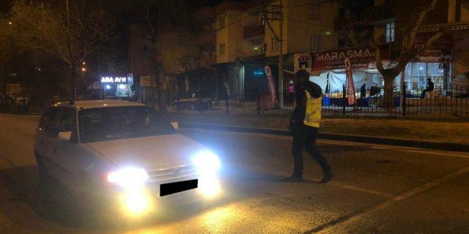 Kahramanmaraş'ta pandemi kaçakları polisten kaçamadı