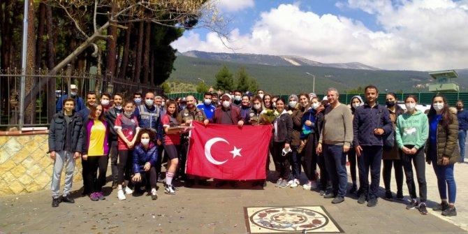 Kahramanmaraş'ta kavga ihbarına giden polis ekiplerine sürpriz