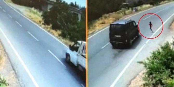 Kahramanmaraş'ta mucize kurtuluş! Kaza anı saniye saniye görüntülendi
