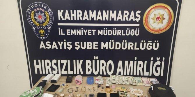 Kahramanmaraş'ta gezici hırsızlık şebekesi yakalandı