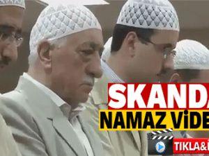 FETÖ elebaşı Gülen'in skandal namaz videosu!