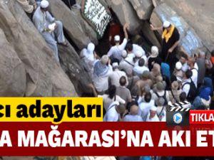Hacı adayları Hira Mağarası'na akın ediyor