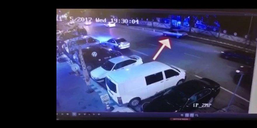Kahramanmaraş'ta kaza anının mobese görüntüleri!